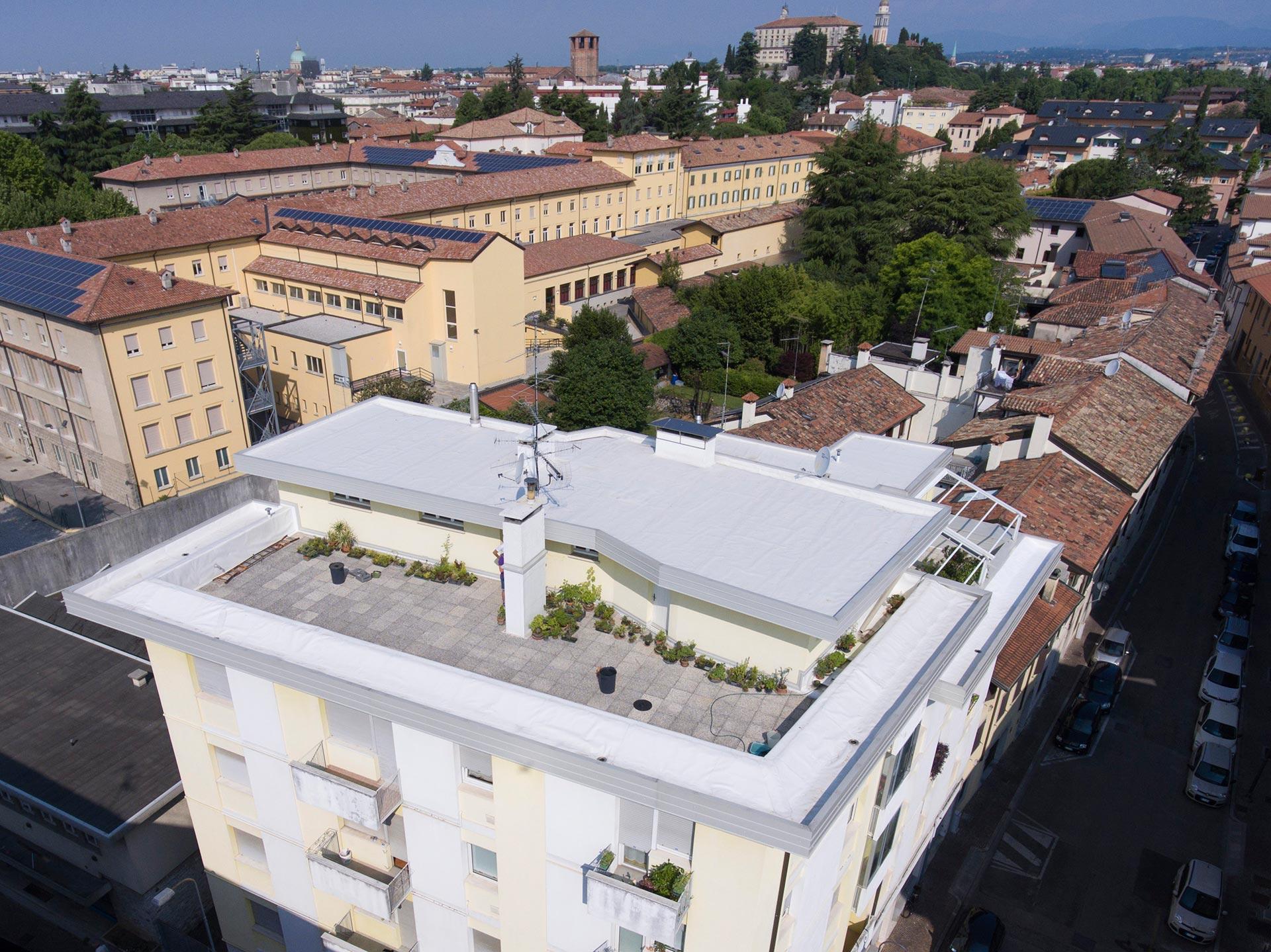 Condominio Udine (UD) – Rifacimento impermeabilizzazione e ...